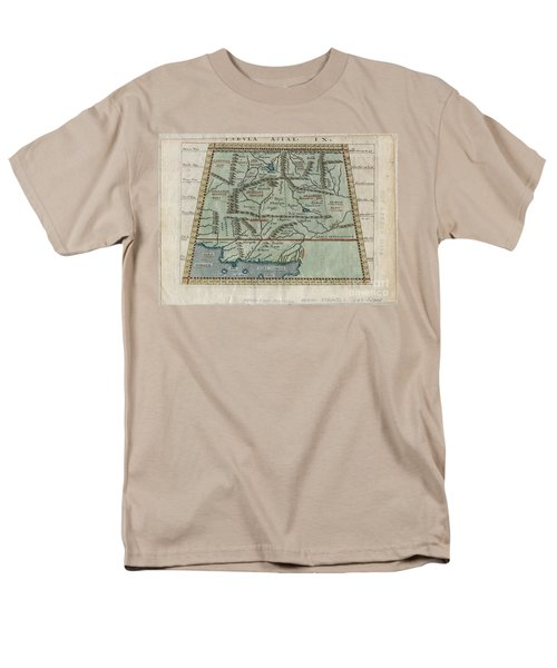 1597 Ptolemy  Magini  Keschedt Map of Pakistan Iran and Afghanistan T-Shirt by Paul Fearn