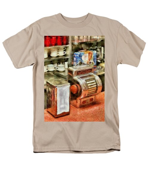 1950's - The Greasy Spoon T-Shirt by Mike Savad