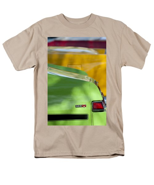 1969 AMC Javelin SST Taillight Emblem T-Shirt by Jill Reger