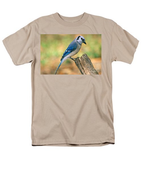 Blue Jay Men's T-Shirt  (Regular Fit) by Millard H. Sharp
