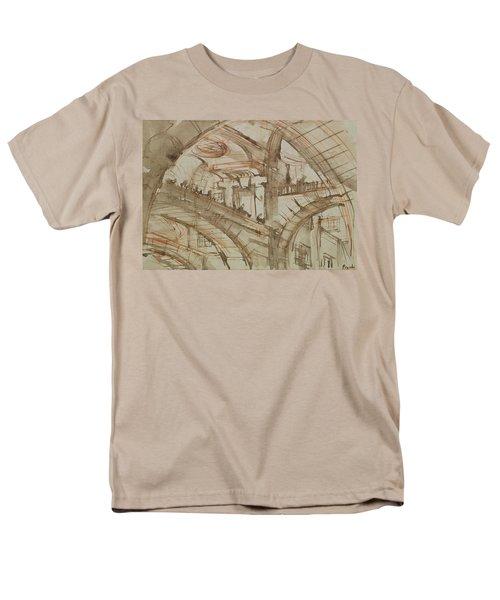 Drawing Of An Imaginary Prison Men's T-Shirt  (Regular Fit) by Giovanni Battista Piranesi