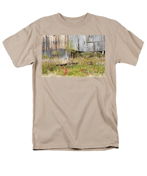 Old Barn in Fall Maine T-Shirt by Keith Webber Jr