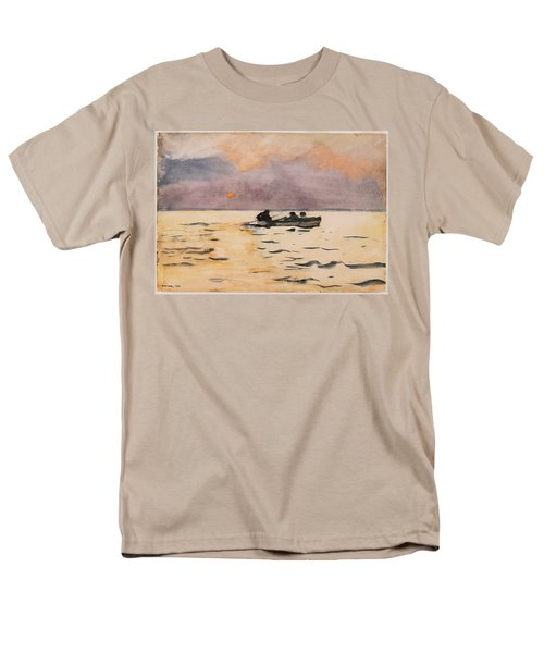 Rowing Home T-Shirt by Winslow Homer