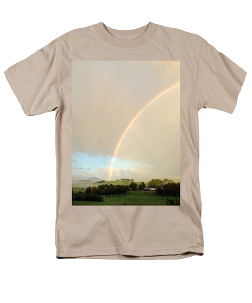 Rainbow T-Shirt by Les Cunliffe