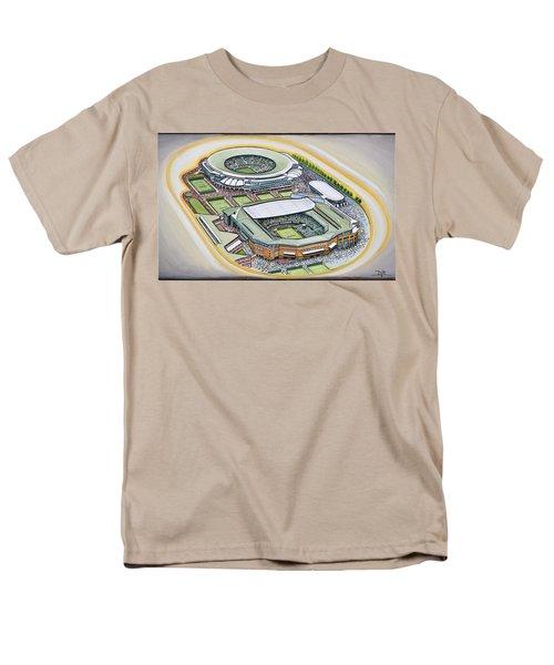 All England Lawn Tennis Club T-Shirt by D J Rogers