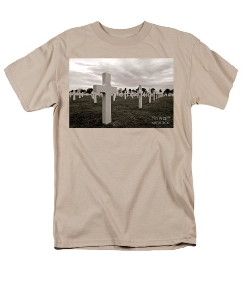 American Cemetery in Normandy  T-Shirt by Olivier Le Queinec