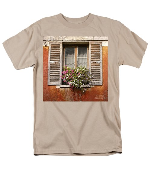 An Old French Window T-Shirt by Olivier Le Queinec