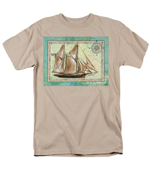 Aqua Maritime 2 T-Shirt by Debbie DeWitt