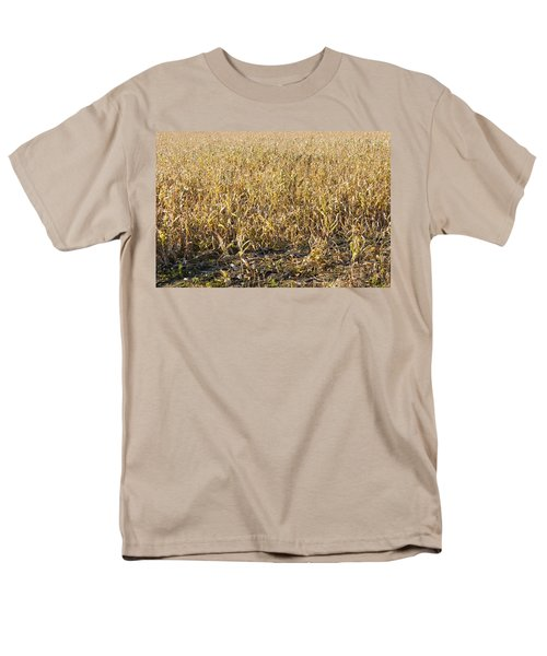 Autumn Cattle Silage Corn In Maine T-Shirt by Keith Webber Jr