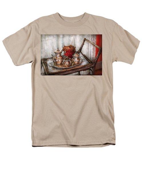 Barista - Tea Set - Morning tea  T-Shirt by Mike Savad