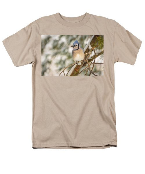 Blue Jay Men's T-Shirt  (Regular Fit) by Everet Regal
