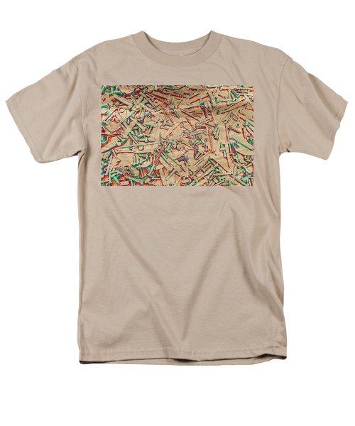 Bunch of Screws 5 - Digital effect  T-Shirt by Debbie Portwood