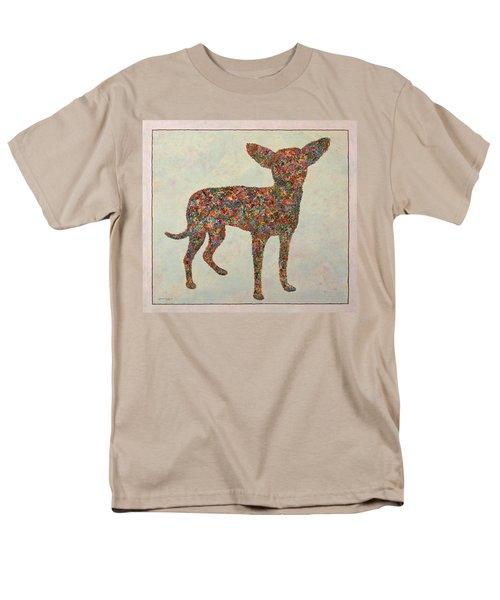 Chihuahua-shape T-Shirt by James W Johnson