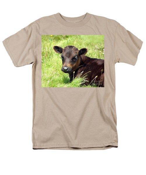 Cute Cow T-Shirt by Terri  Waters