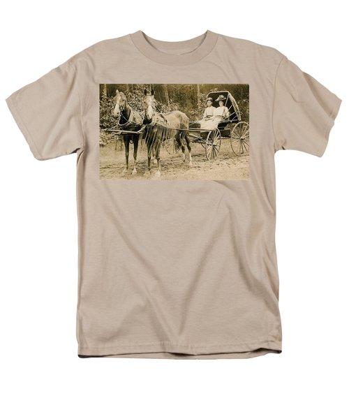 Delivering The Mail 1907 T-Shirt by Floyd Russell