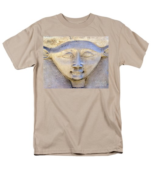 Dendara Carving 2 - Hathor T-Shirt by Brian Raggatt