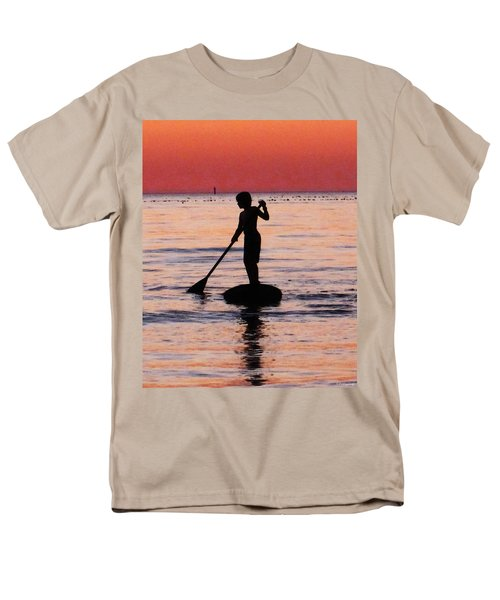 Dusk Float - Sunset Art T-Shirt by Sharon Cummings