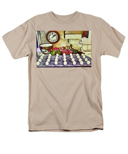 Eggs on Display T-Shirt by Chuck Staley