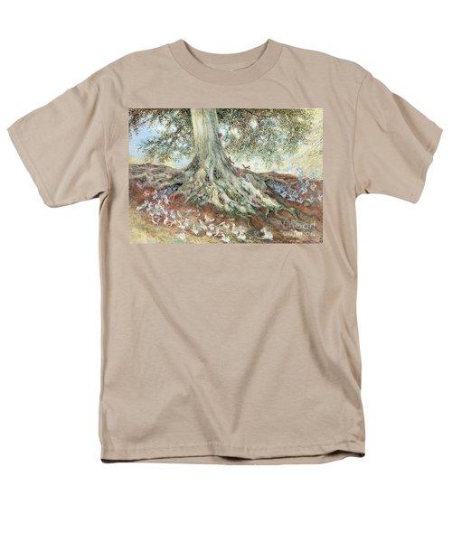 Elves In Rabbit Warren T-Shirt by Photo Researchers