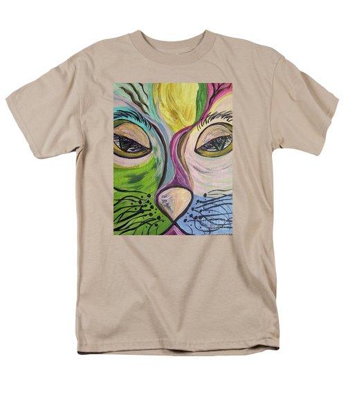 Flirty Feline ... Cat Eyes T-Shirt by Eloise Schneider