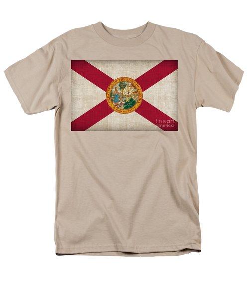 Florida State Flag T-Shirt by Pixel Chimp