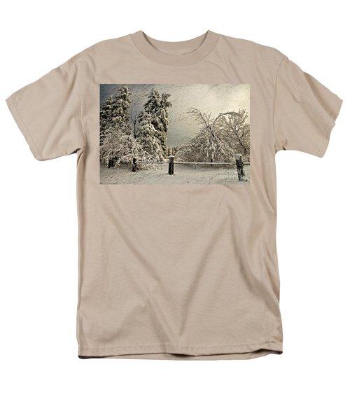 Heavy Laden Blizzard T-Shirt by Lois Bryan