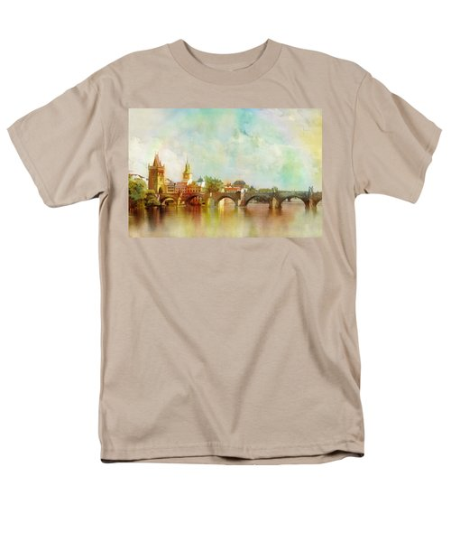 Historic Centre of Prague  T-Shirt by Catf