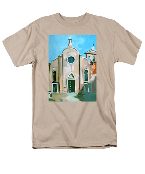 Italian Church T-Shirt by Filip Mihail
