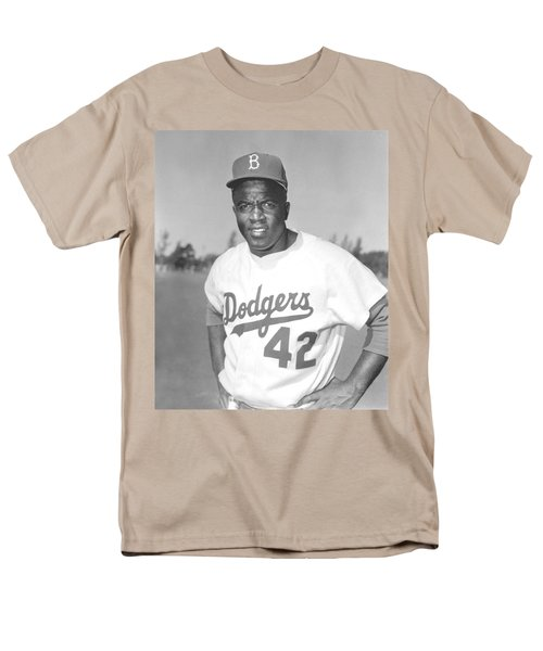 Jackie Robinson Poster T-Shirt by Gianfranco Weiss