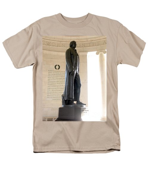 Jefferson Memorial in Washington DC T-Shirt by Olivier Le Queinec