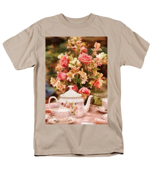 Kettle - More tea Milady  T-Shirt by Mike Savad