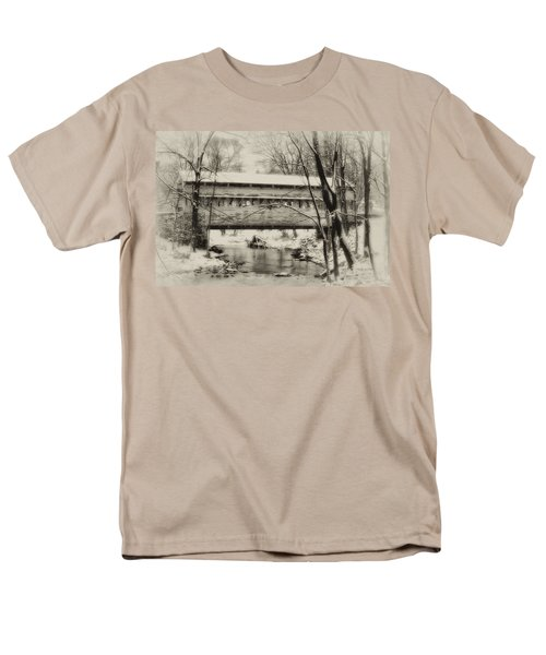Knox Valley Forge Covered Bridge T-Shirt by Bill Cannon
