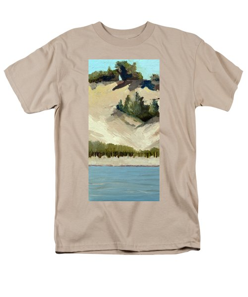 Lake Michigan Dune with Trees Diptych T-Shirt by Michelle Calkins