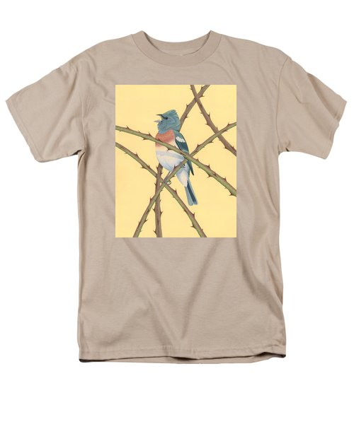 Lazuli Bunting Men's T-Shirt  (Regular Fit) by Nathan Marcy