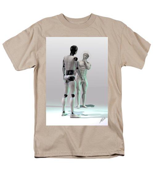Mechanical God's creation T-Shirt by Joaquin Abella