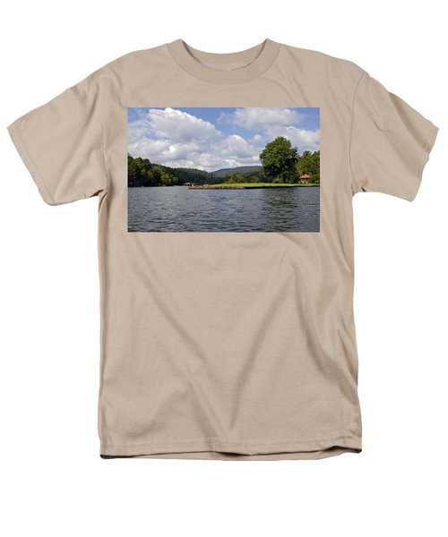 Morning on the Lake T-Shirt by Susan Leggett