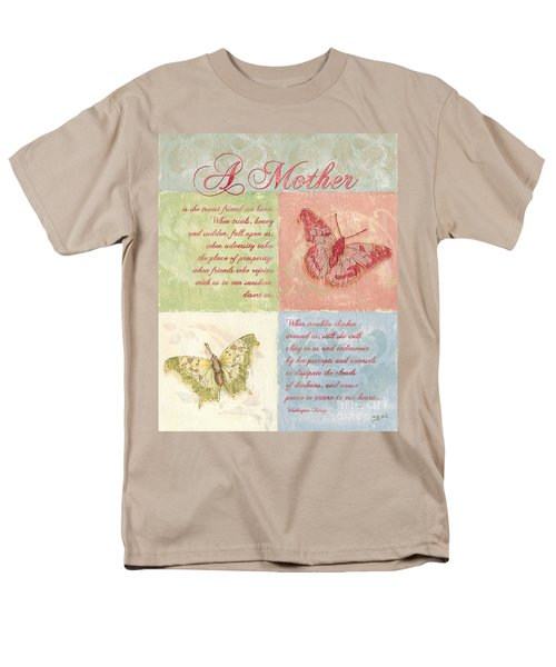 Mother's Day Butterfly card T-Shirt by Debbie DeWitt
