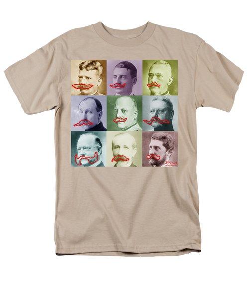 Moustaches T-Shirt by Tony Rubino