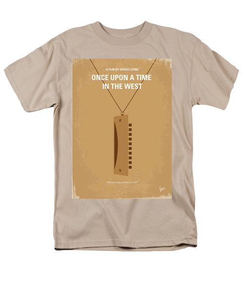 No059 My once upon a time in the west minimal movie poster T-Shirt by Chungkong Art