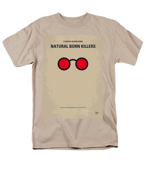 No139 My Natural Born Killers minimal movie poster T-Shirt by Chungkong Art