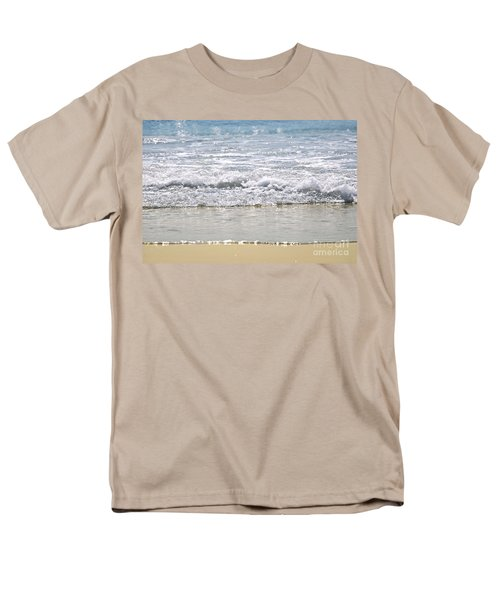 Ocean shore with sparkling waves T-Shirt by Elena Elisseeva