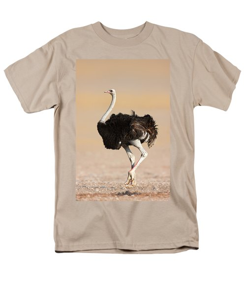 Ostrich Men's T-Shirt  (Regular Fit) by Johan Swanepoel