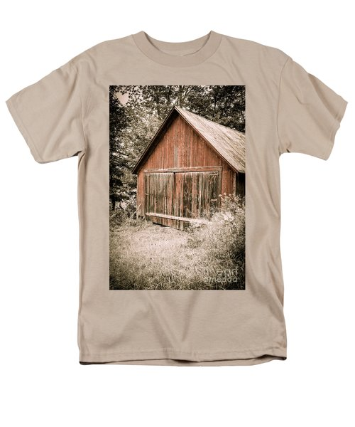 Out by the Woodshed T-Shirt by Edward Fielding