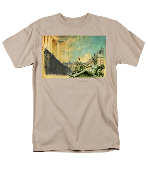 Palace and Park of Versailles UNESCO World Heritage Site T-Shirt by Catf