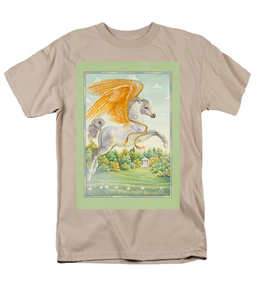 Pegasus Men's T-Shirt  (Regular Fit) by Lynn Bywaters