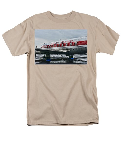 Plane Obsolete Capital Airlines T-Shirt by Paul Ward