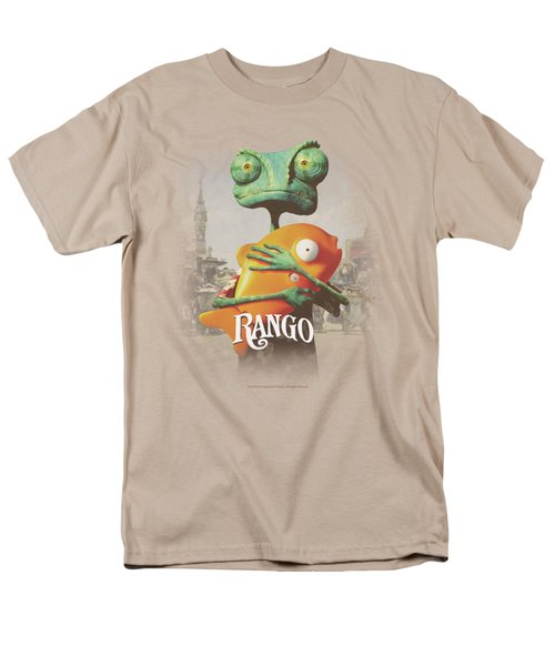 Rango - Poster Art Men's T-Shirt  (Regular Fit) by Brand A