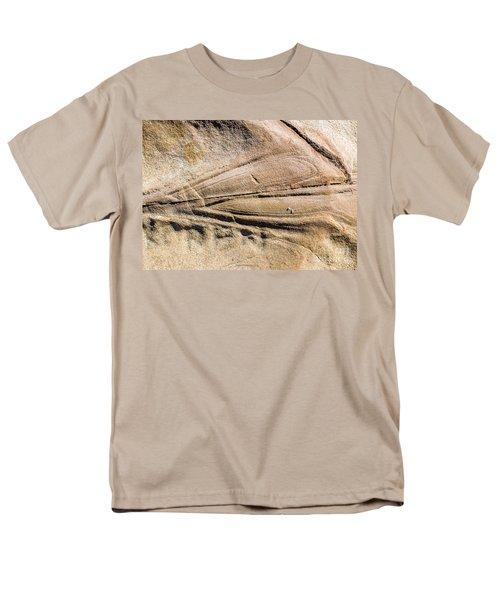 Rock patterns T-Shirt by Steven Ralser