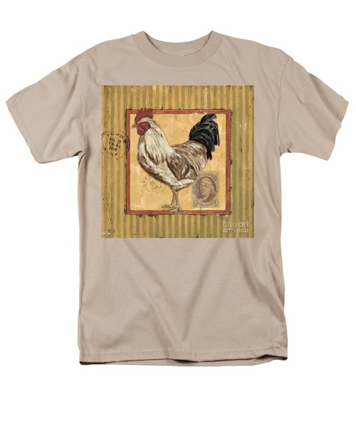Rooster and Stripes T-Shirt by Debbie DeWitt