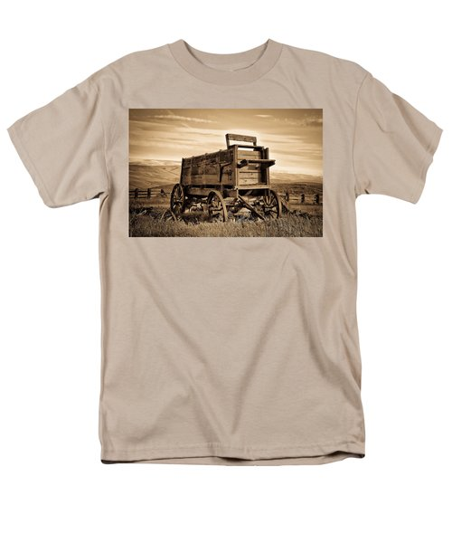 Rustic Covered Wagon T-Shirt by Athena Mckinzie